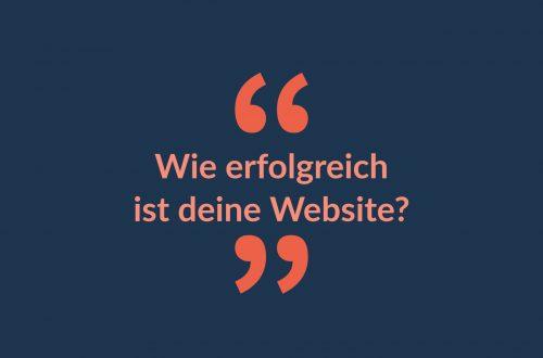Website-Ziele definieren